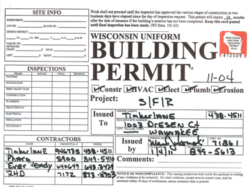 how to find building plans from permit